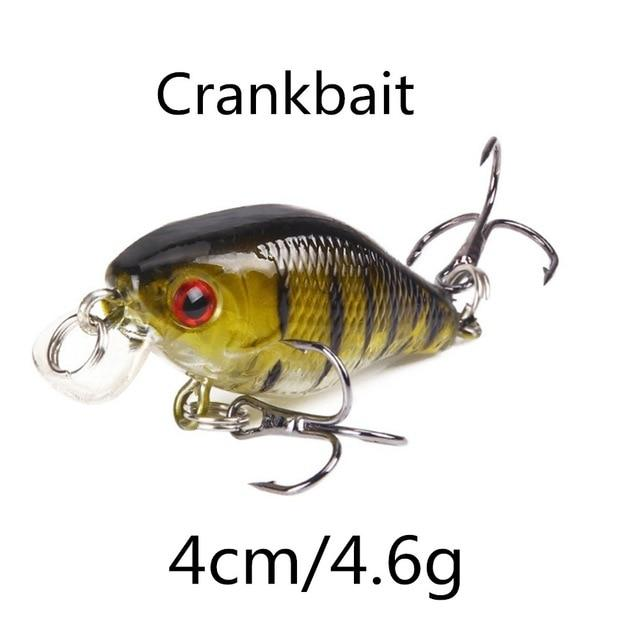 Floating Wobblers Minnow Fishing lure
