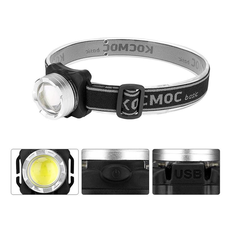 Charging Strong Headlights Outdoor Climbing Searchlights LED Fishing Lights