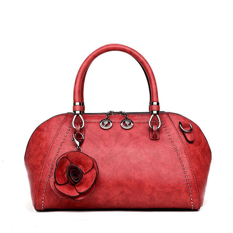 Vintage Flowers Crossbody Bag Handbag