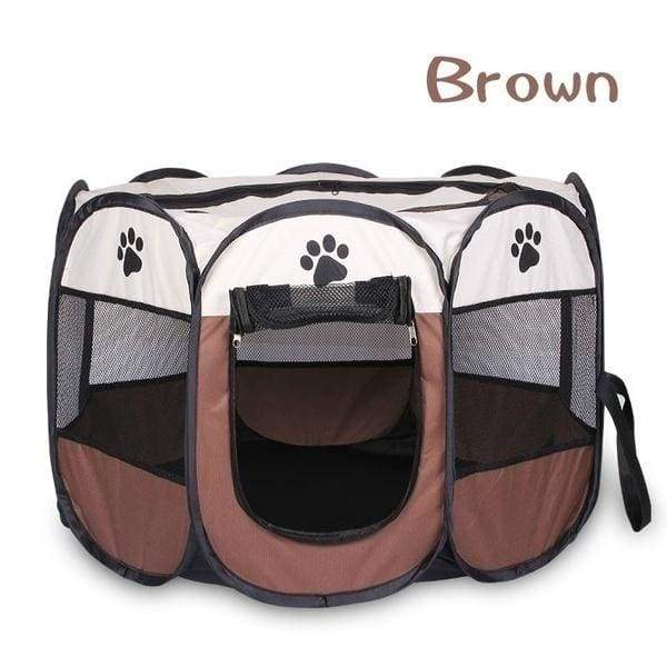 Portable Pet Playpen Tent Dog Folding Crate Dog House Puppy Kennel Cat Cage Water Resistant