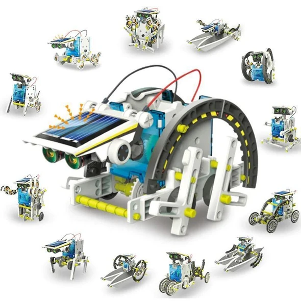 14-in-1 Education Solar Robot Toys(Buy 2 Free Shipping)
