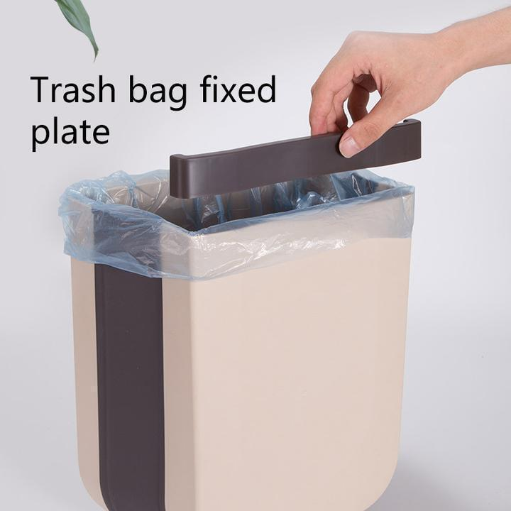 Household Car Wall-mounted Folding Trash Can(Last Day Promotion 50% Off!)