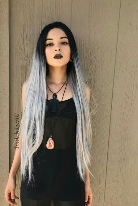 2020 New Gray Hair Wigs For African American Women Full Lace Wigs With Baby Hair Kardashian Wigs Gray Hair On Brown Skin Diy Grey Hair Real Lace Front Wigs