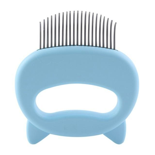 (🎄Christmas Sale🎄- 50% OFF) Pet Hair Removal Massaging Shell Comb- Buy 4 Free Shipping