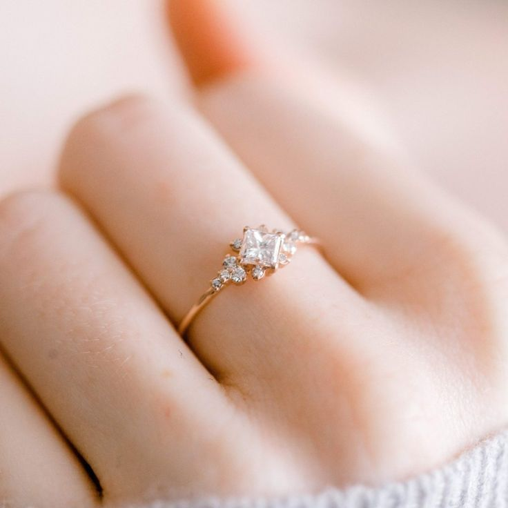 2020 New Rings For Women Simple Round Engagement Rings Necklace Set Combo Online My Engagement Ring Breast Milk Ring