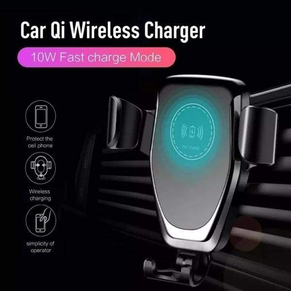 Qi Wireless Charging Charger Anti-shock Fast Qi 360 ¡ã Rotatable Wireless Charger Car Air Outlet Holder