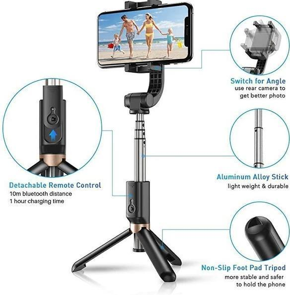 PB Bluetooth anti-shake selfie stick