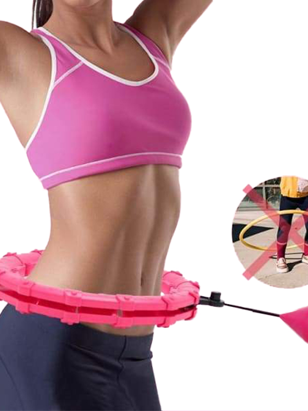 2021 New 24 Knots Smart Hula Hoop | Detachable Fitness Hoops