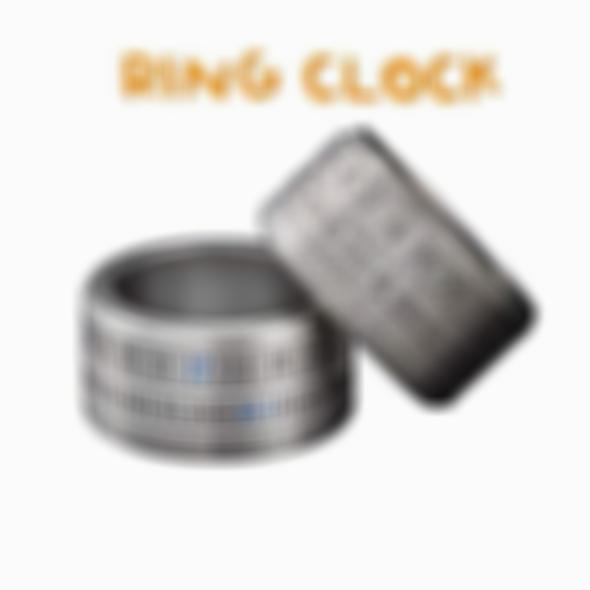 BUY 1 GET 1 FREE TODAY ONLY -  Ring Clock