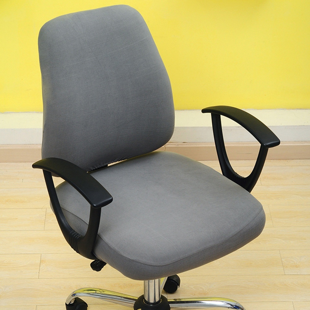 Modern Computer Chair Cover 100% Polyester Elastic Fabric Office Chair covers