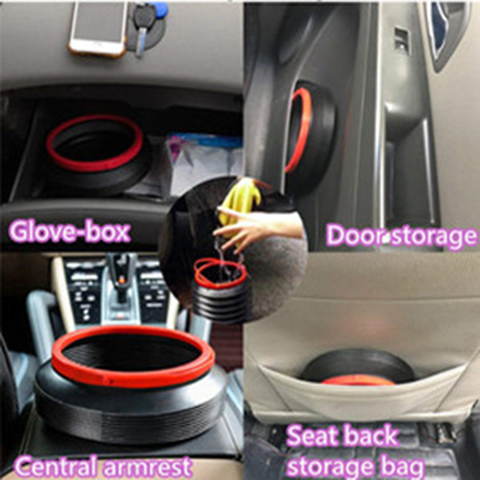 Buy two save $10,Portable Collapsible Water Proof Car Trash Can