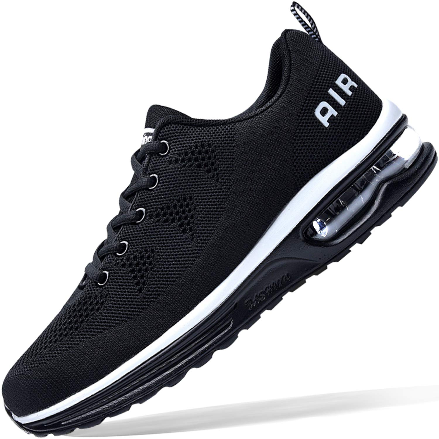 (2 pairs free shipping)Men's Sneakers Lightweight Air Cushion Gym Fashion Shoes Breathable Walking Running Athletic Sport
