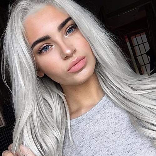 2020 New Gray Hair Wigs For African American Women Yuno Gasai Wig Grey Wigs For Black Ladies Grey Hair On Dark Skin Short Grey Pixie Professional Wig Stylist Near Me