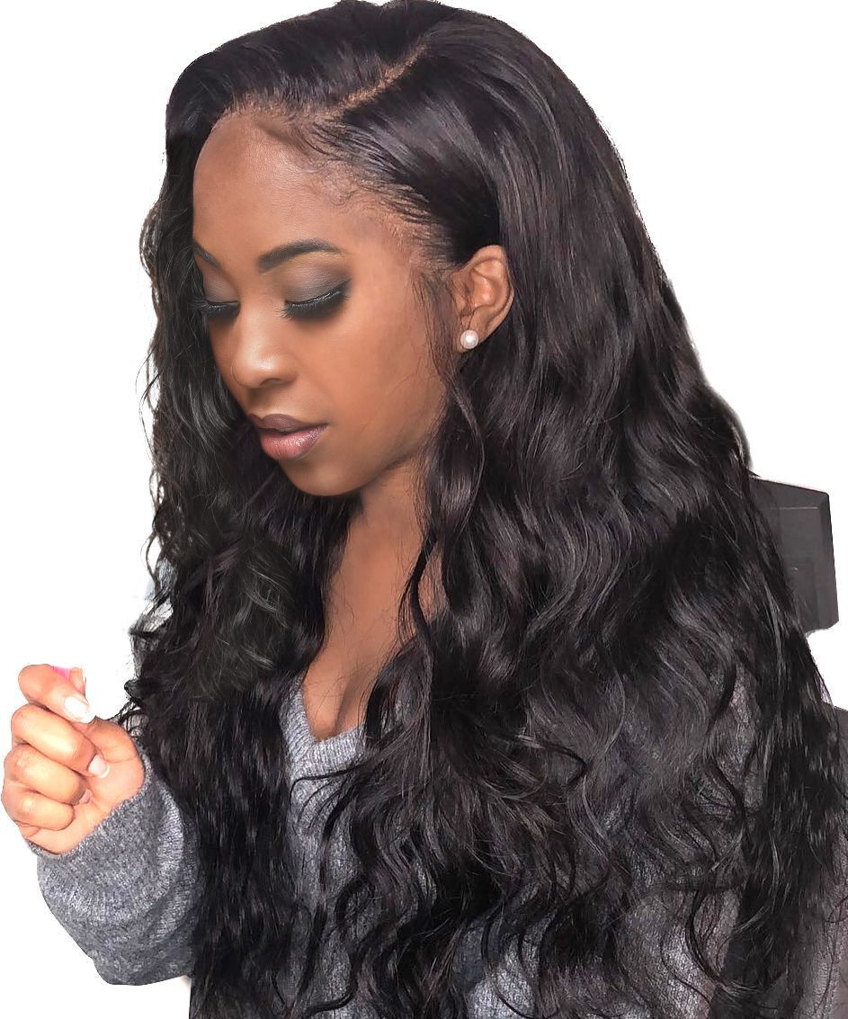 Lace Front Wigs Black Curly Hair Unprocessed Virgin Hair Vendors Deep Wave Virgin Hair Human Hair Extensions Online