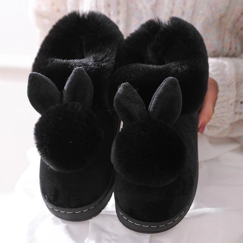 💖Holiday Sale 🔥Winter Cotton Bunny Slippers - 50% OFF For All Items