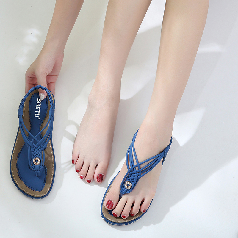 2021 summer new comfort woven sandals