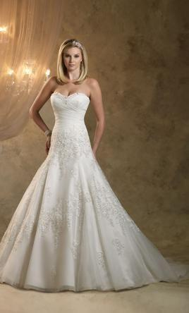Fashion And Beautiful Mermaid Wedding Dresses With Long Train For Girl