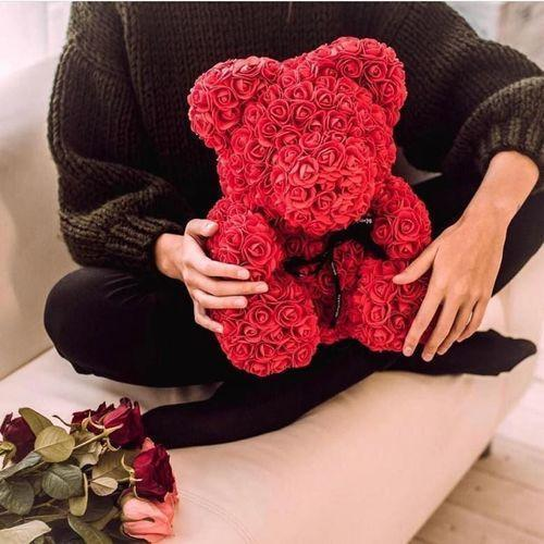 Free Shipping Romantic Rose Bear - The Best Gift For The Loved Ones In 2020
