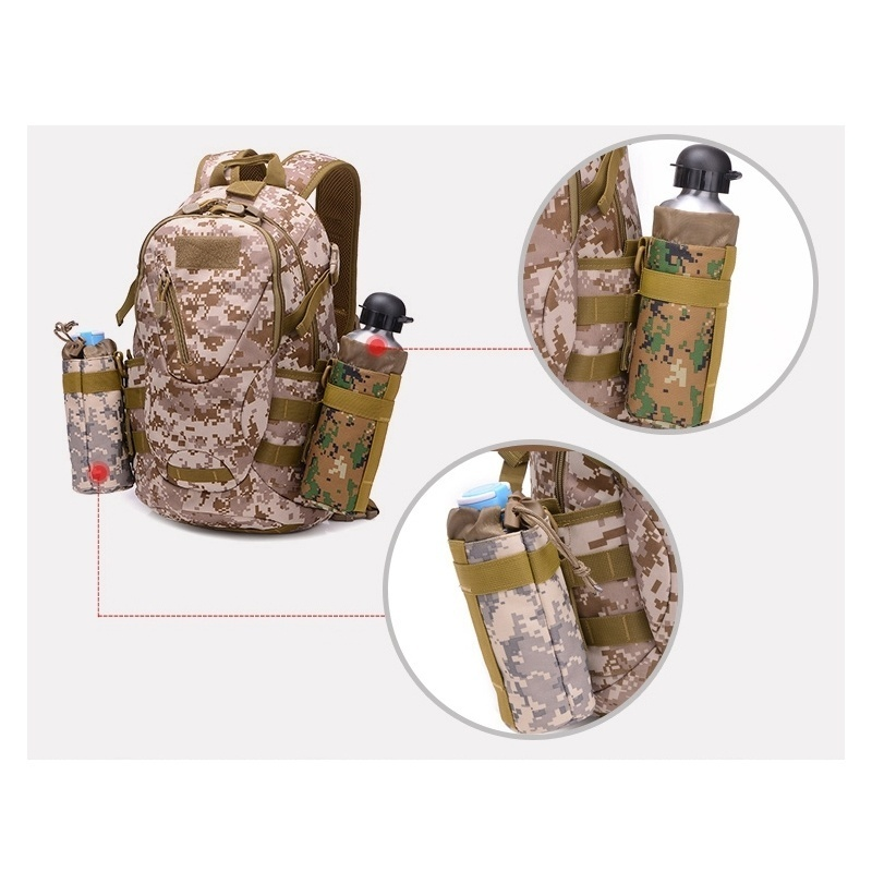 Outdoor 600D  Oxford Fabric Outdoor Waist Multifunctional 15-20L Large Capacity Canvas Waterproof Fishing Lure Box Tackle Bags Tactical Package