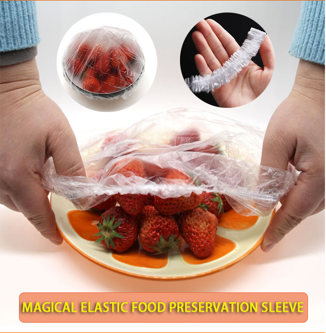 【💖100 pieces💖】Magical elastic Food Preservation Sleeve