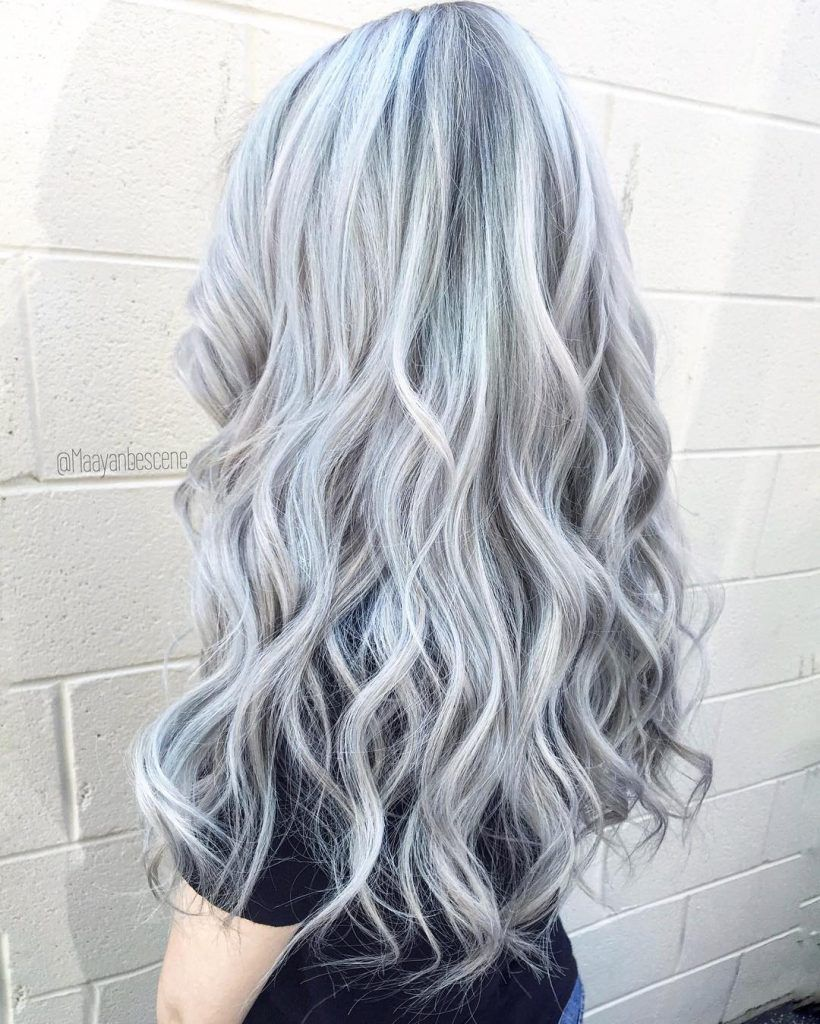 2020 New Gray Hair Wigs For African American Women Strawberry Blonde Wig Salt And Pepper Grey Hair Bohemian Wig Curly Silver Hair Dreads Wig