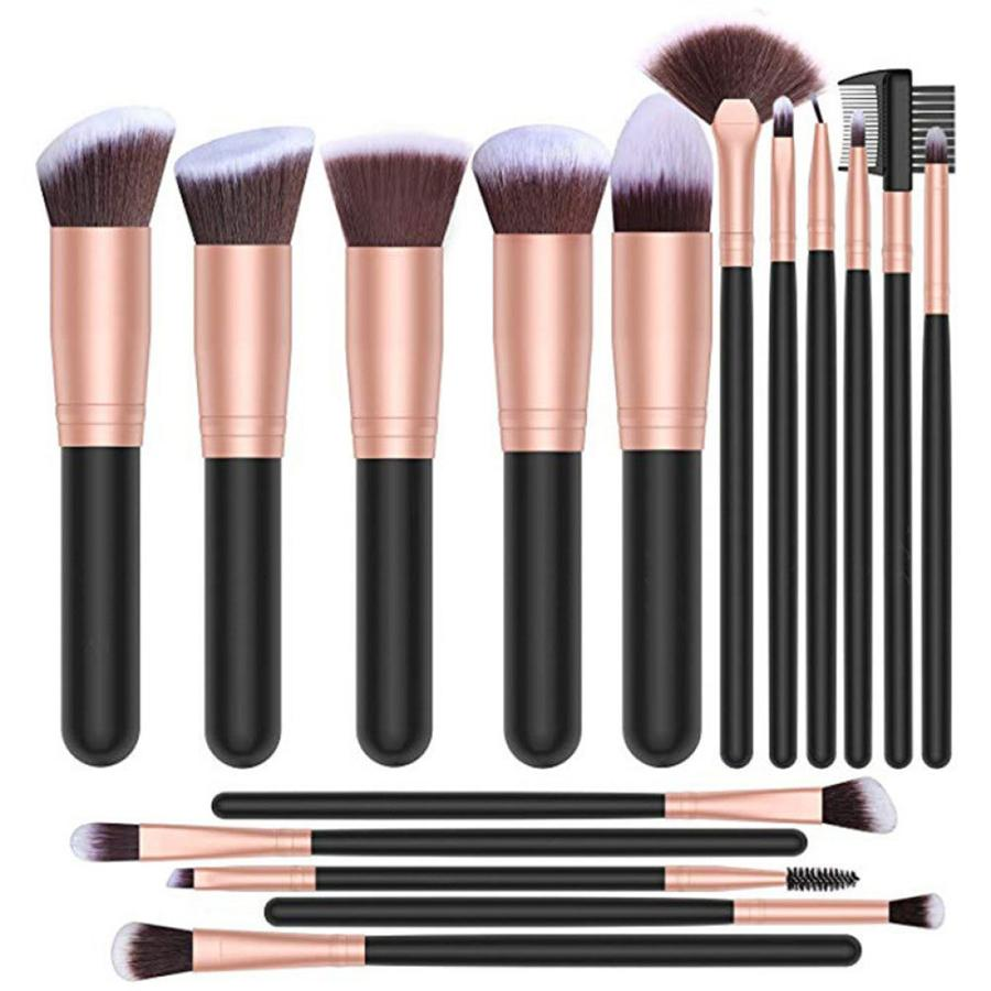 16 pcs All in One Professional Makeup Brushes