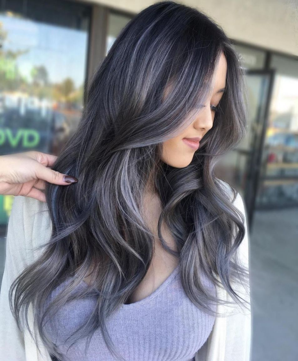 2020 New Gray Hair Wigs For African American Women Wiglet Wash That Grey Out Of Your Hair Ash Grey Hair Dara Wig Going Gray