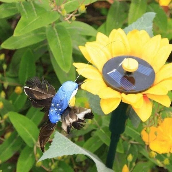(🔥Clearance Sale - 65% OFF) Solar Dancing Hummingbird【BUY 2 GET 1 FREE & FREE SHIPPING】