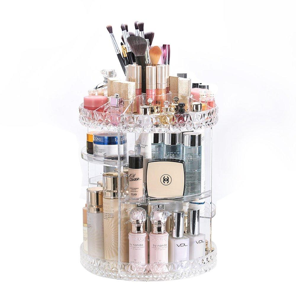 (Last Day 50% OFF)Multi-Function Large Capacity Rotation Cosmetic Organizer
