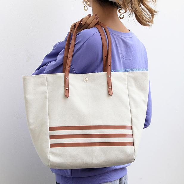 Vintage Canvas HandBag Shoulder Bag