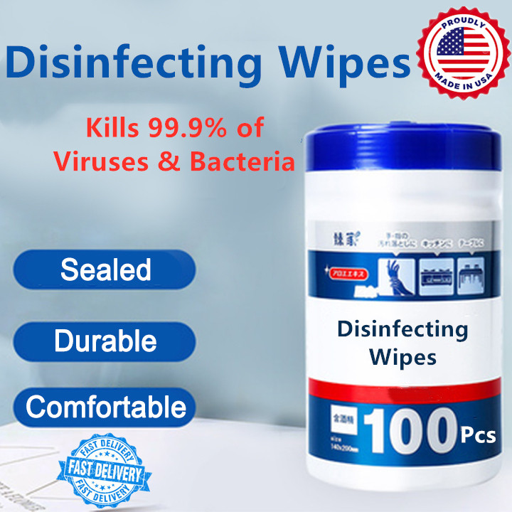 Hazza Lab™ Disinfecting Wipes, Official Authorized Store! Bleach Free Disinfecting Wipes - 100 Count