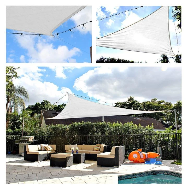 🔥Sun Shade Sail Canopy 98% UV Block Top Outdoor   5 Years Warranty Buy 2 Free Shipping🔥