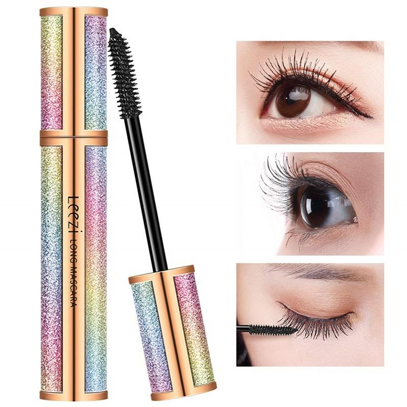 4D Silk Fiber Eyelashes Waterproof Curl Mascara