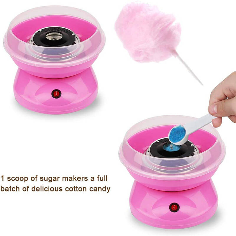 DIY Mini Cotton Candy Maker Hard Candy Cotton Candy Machine
