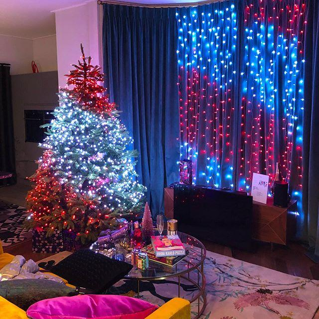 Personalized Christmas LED String Lights