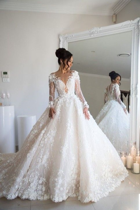 Romantic Lace Gowns Bridal Dresses Online Asian Bridal Dresses Blake Lively Wedding Dress Indian Bridal Wear Bridal Outlet Free Shipping