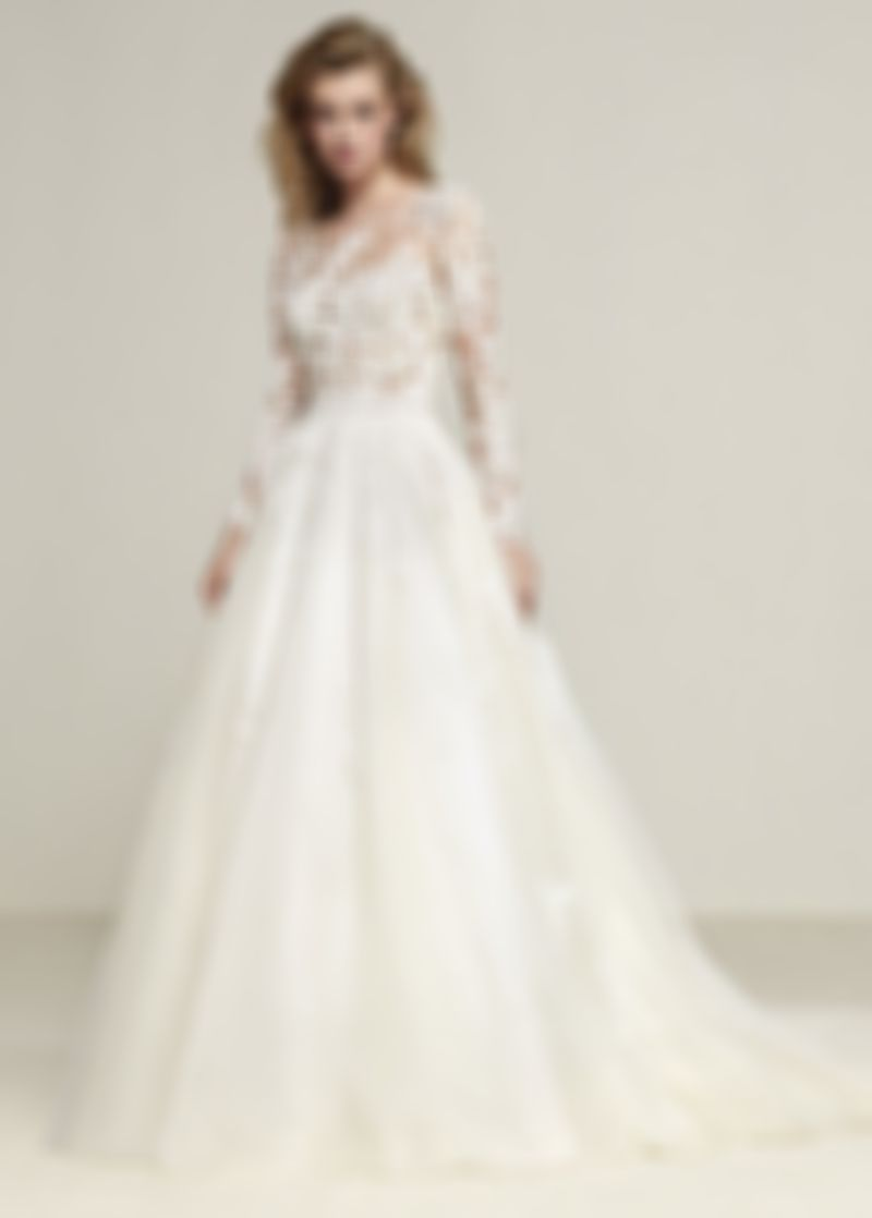 Fashion And Beautiful 2 In 1 Wedding Dress For Girl