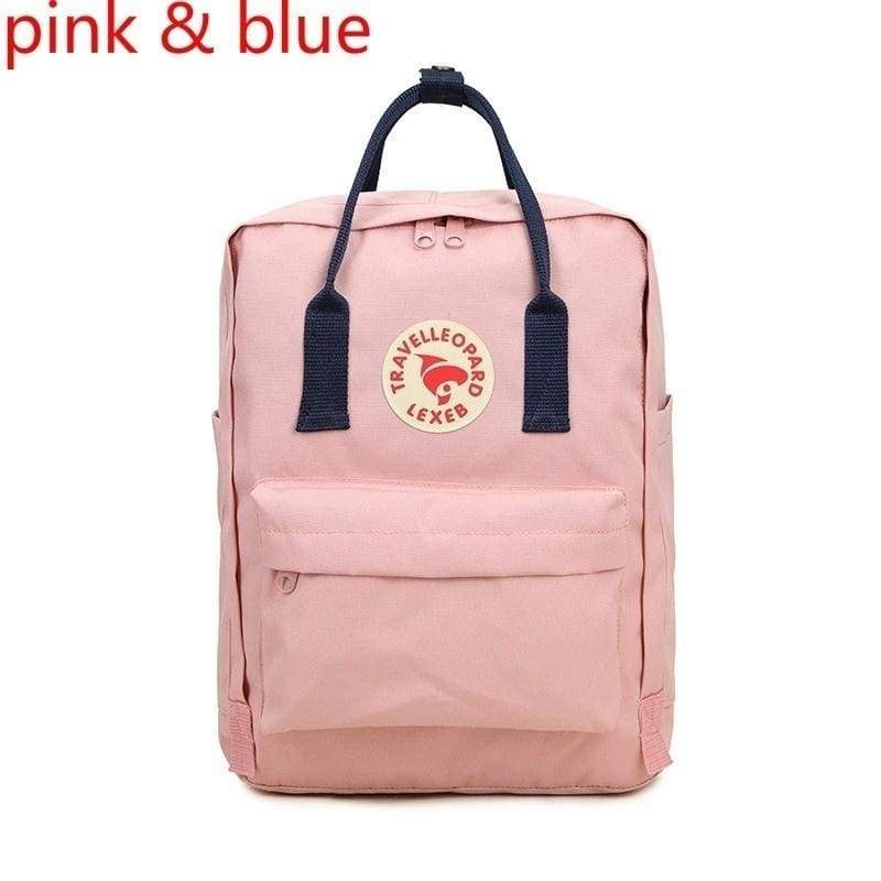 Unisex Fashion Wear-resistant Rucksack Concise Solid Color Backpack Computer Bag Teenage Student Cute Canvas Waterproof Backpack