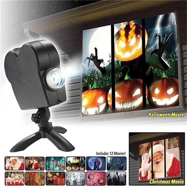 🎃Buy 2 Free shipping-Halloween Holographic Projection