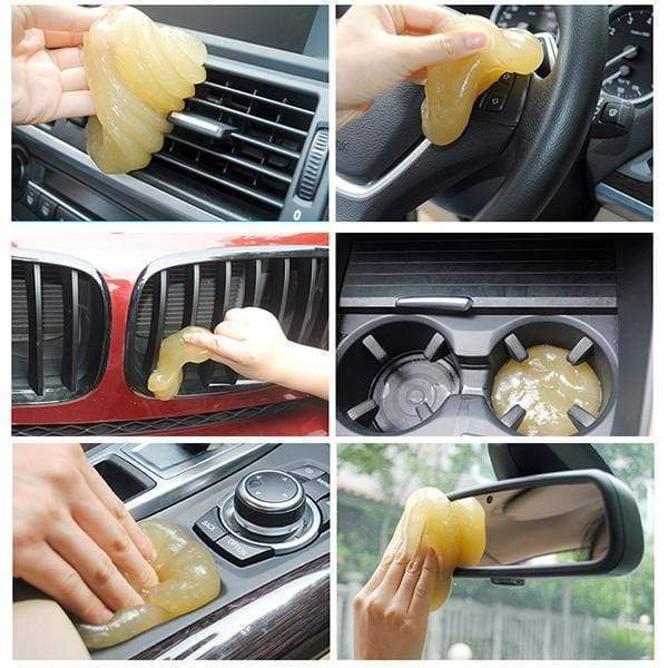 Disposable Magic Cleaner Glue For Keyboard, Car