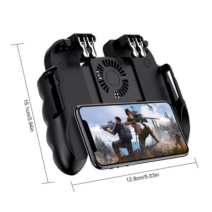 🔥Last Day 60%OFF🔥 4/6 Trigger Mobile Game Controller with Cooling Fan - 2020 Hot New Releases
