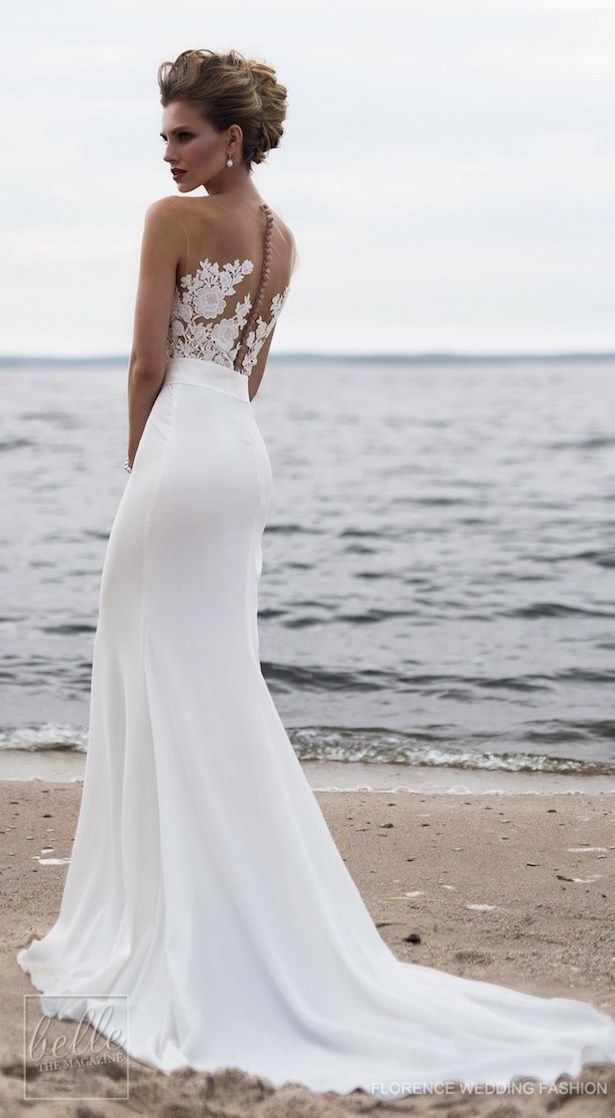 Fashion And Beautiful Cheap Beach Wedding Dresses For Girl