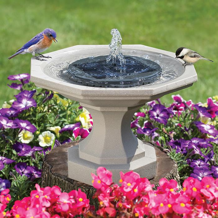 60% OFF- Solar-Powered Fountain Kit