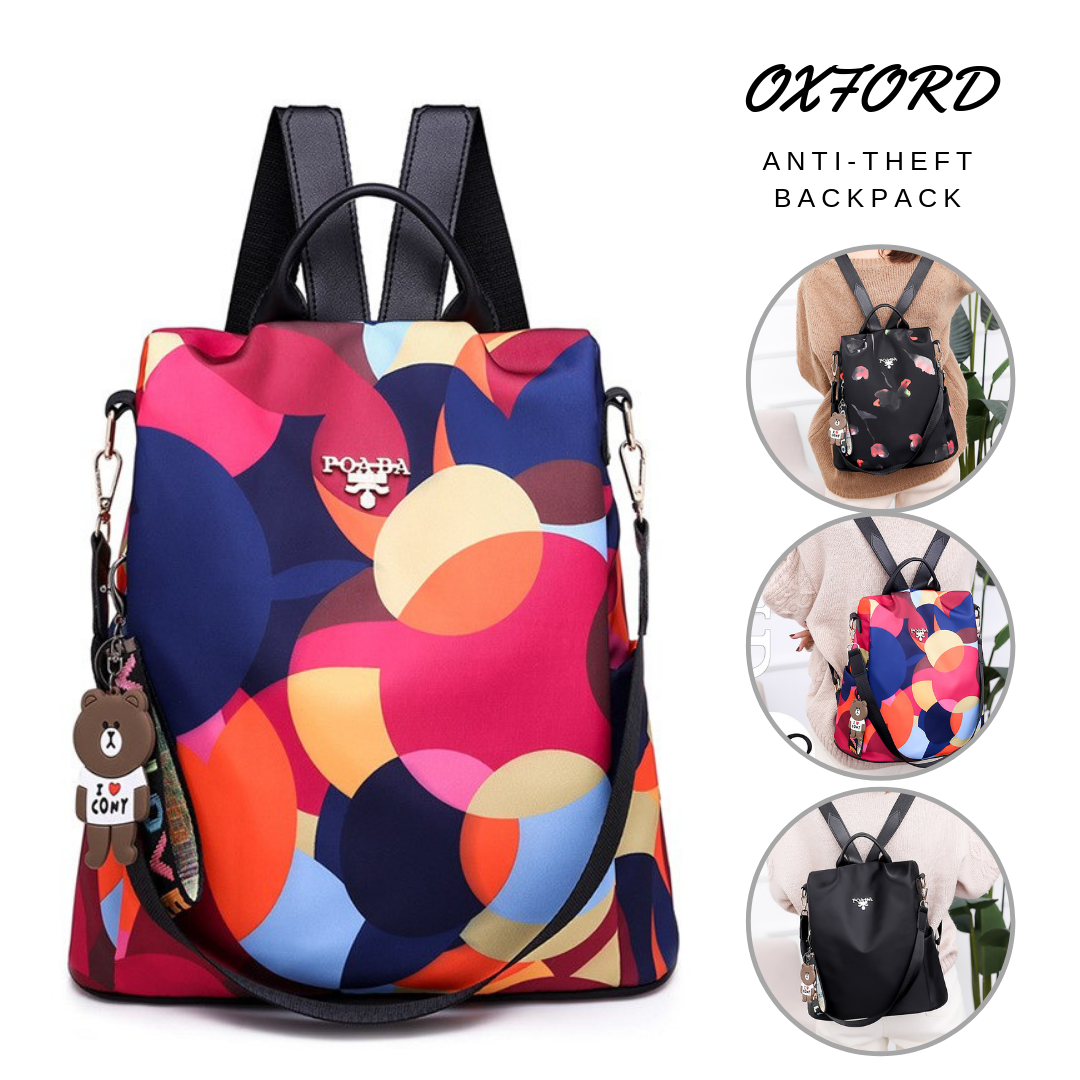2019 Latest High-End Fashion Anti-Theft Backpack