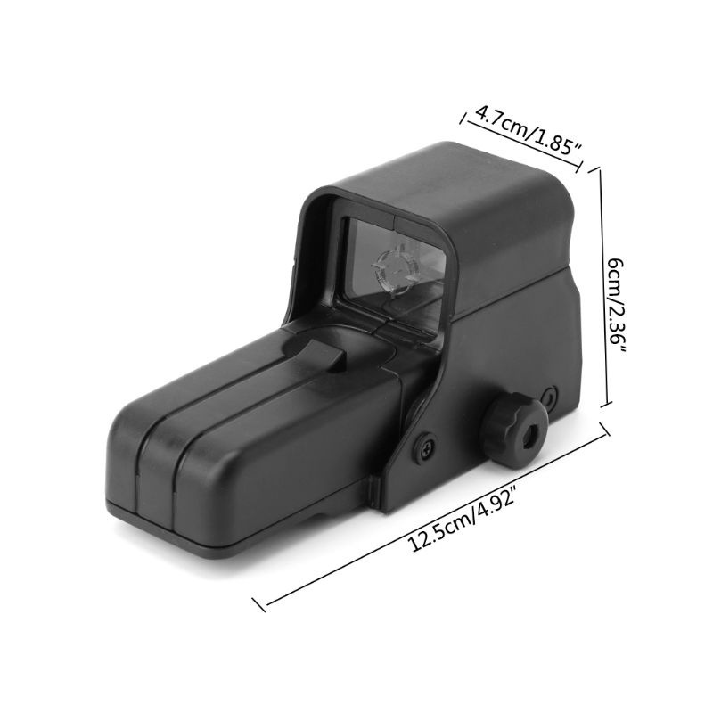 Collimator Holographic Sight Green Dot Optic Sight Reflex Sight for Airsoft Sniper Rifle Hunting
