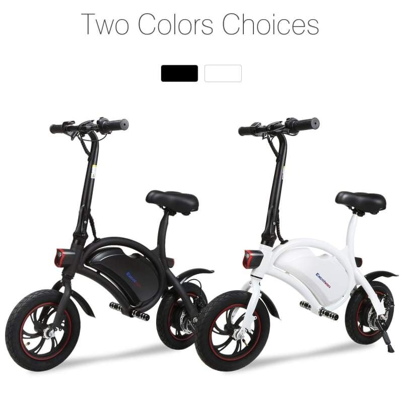 Outdoor Folding E-Bike Collapsible Frame Electric Bicycle