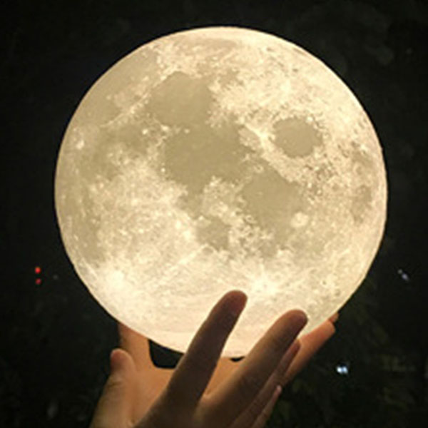 50% off the first time, 3D moon light for living room and gifts