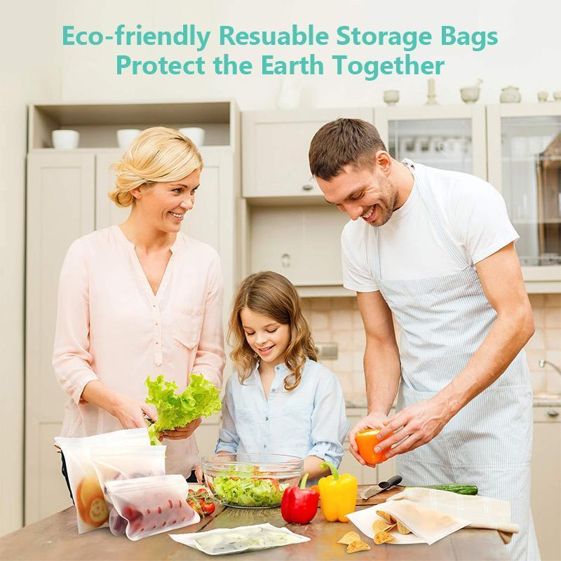 50% OFF TODAY - Eco-friendly Reusable Food Storage Bags