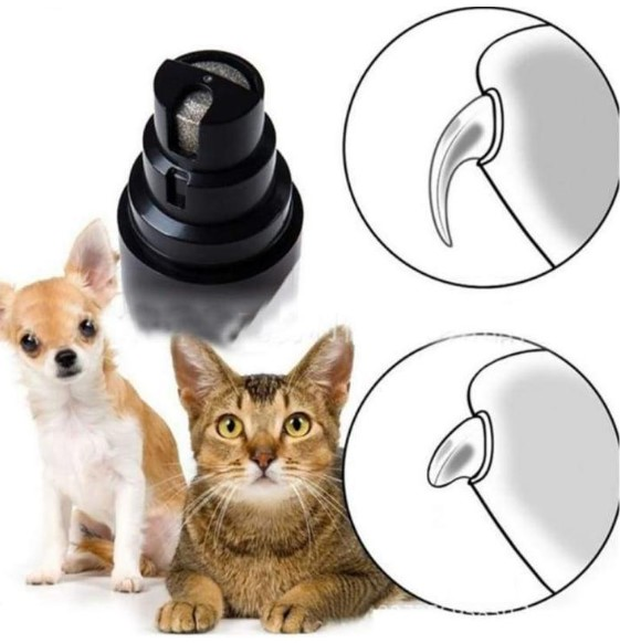 Cordless Premium Dog and Cat Nail Grinder, Safe and Painless