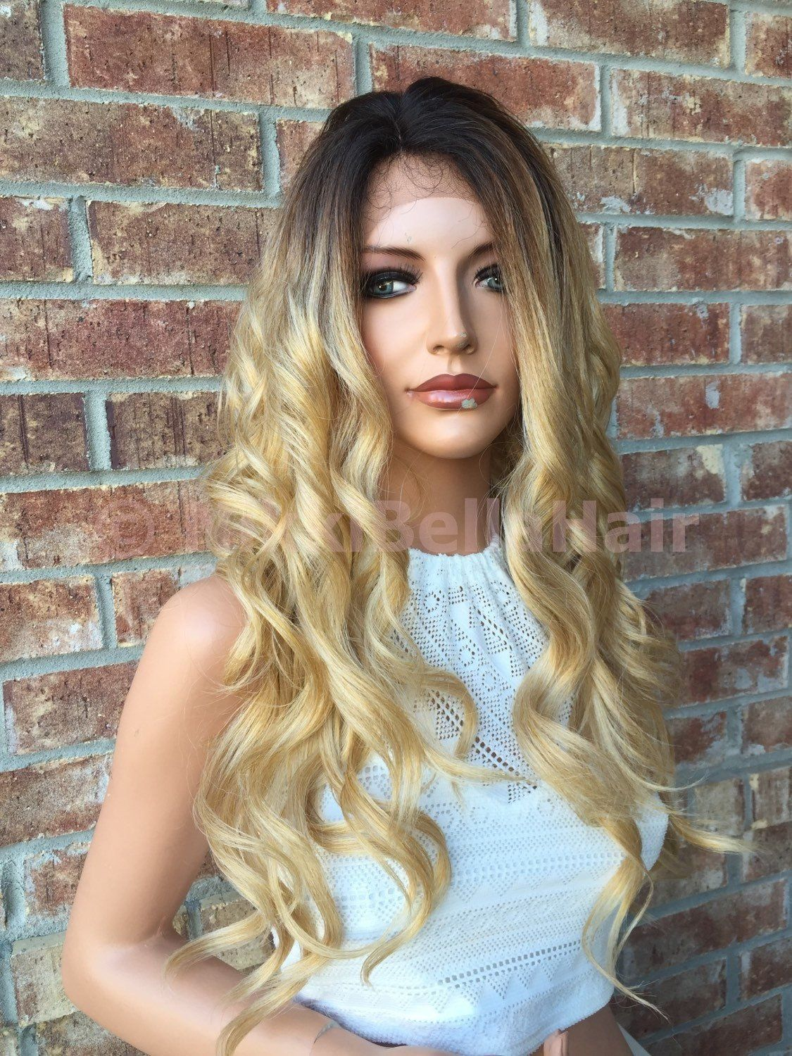 2020 Fashion Blonde Wigs For White Women Blond With Lowlights High Lift Dye Ombre Ash Blonde Wig Wella T18 Uk Toning Brassy Hair Lace Frontal Wigs